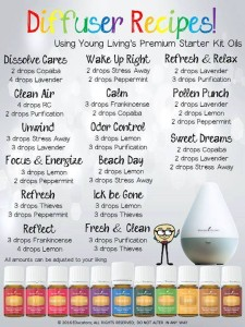 Starter Kit Diffuser Recipes